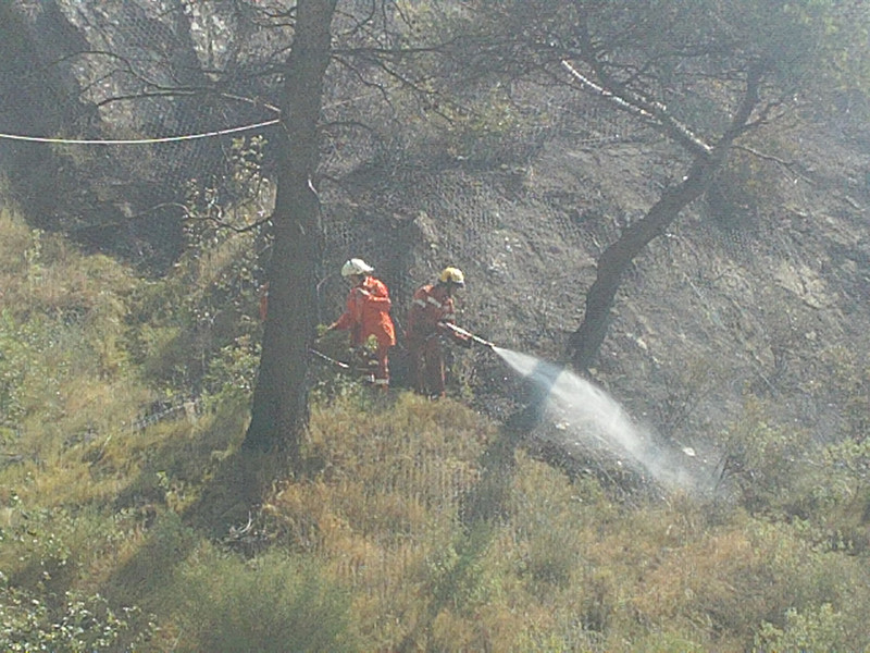 Just Cause 3 Elicottero Per Reportage : Ventimiglia incendio nei pressi del deposito keromec
