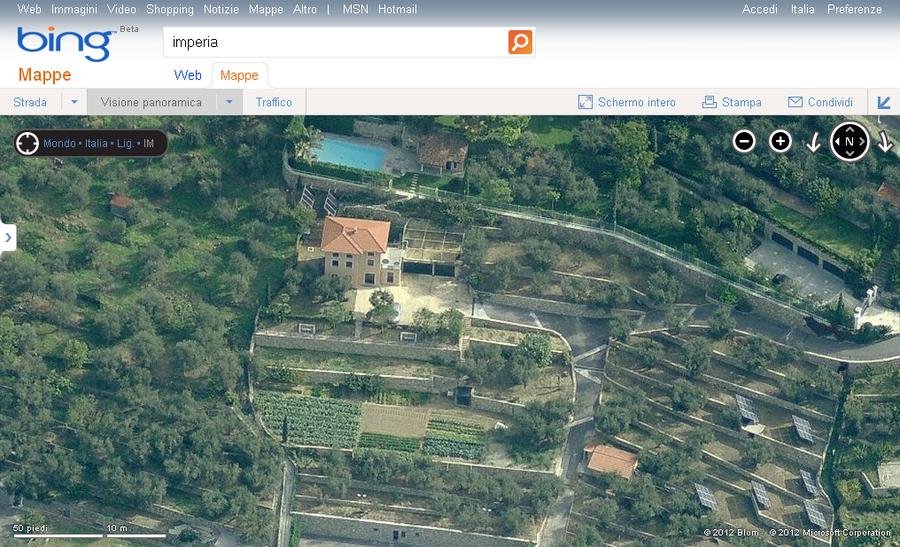 Imperia repubblica scopre che la villa a 3 piani di for Piani di casa di villa spagnola